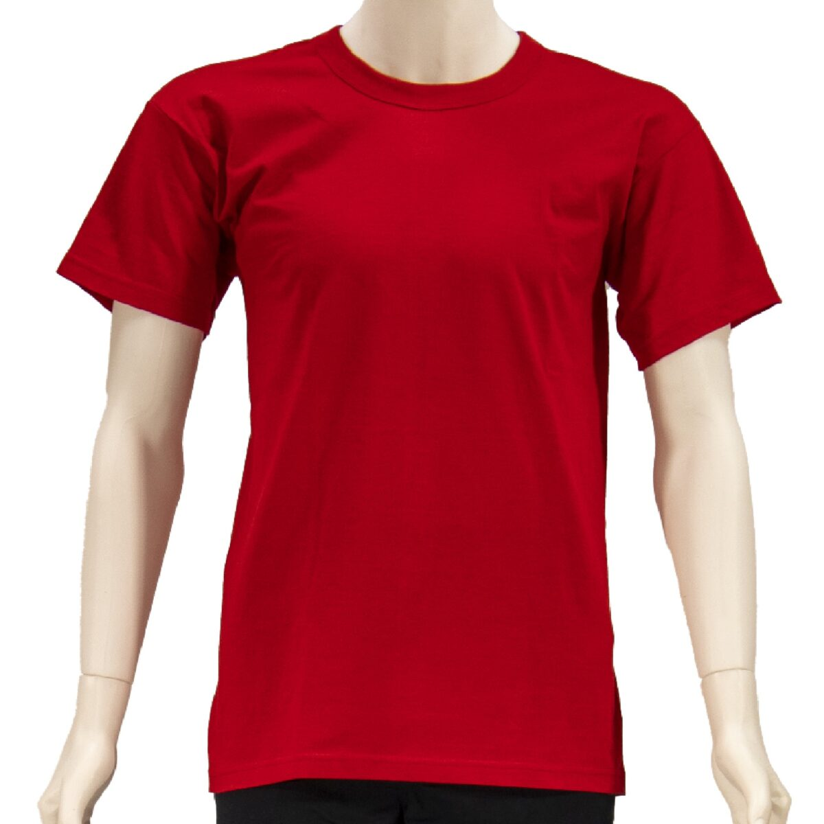 RED COMBED T-SHIRT